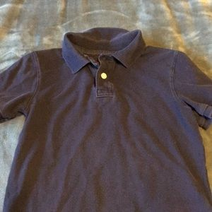 Boy's navy polo shirt